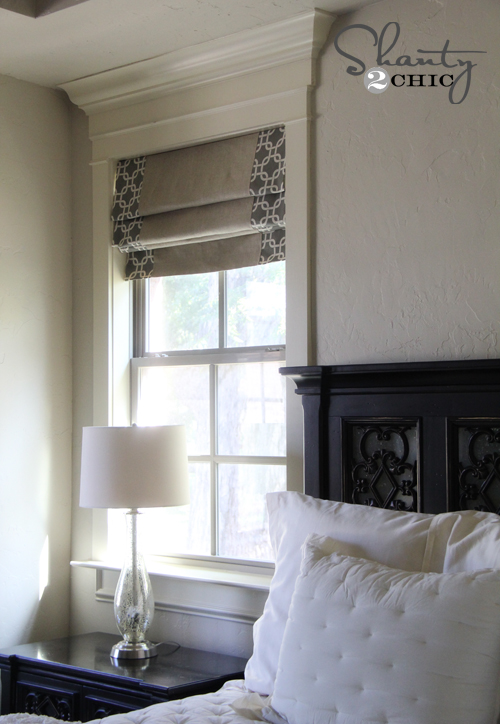 Windows ~ DIY Shades and Panels - Shanty 2 Chic