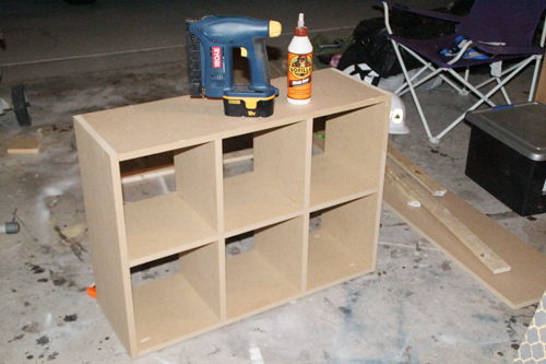 diy cubby storage