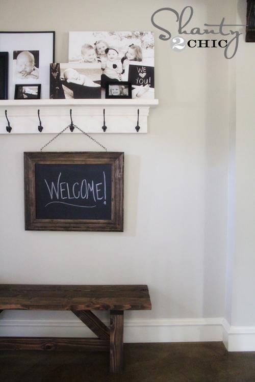Restoration Hardware Inspired Chalkboard - Shanty 2 Chic