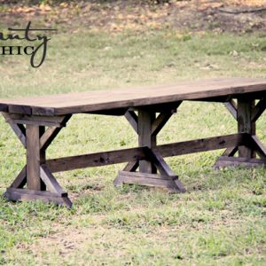 farmhouse bench 300x300 Restoration Hardware Coffee Table With Wheels Awesome Coffee Tables