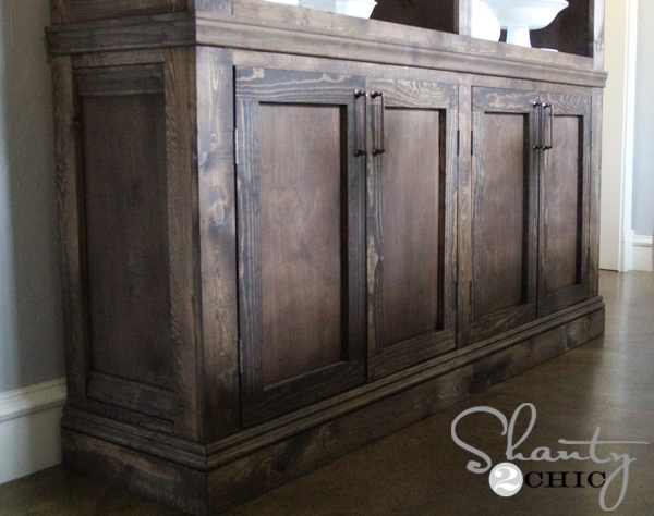 Restoration Hardware Inspired Sideboard Shanty 2 Chic