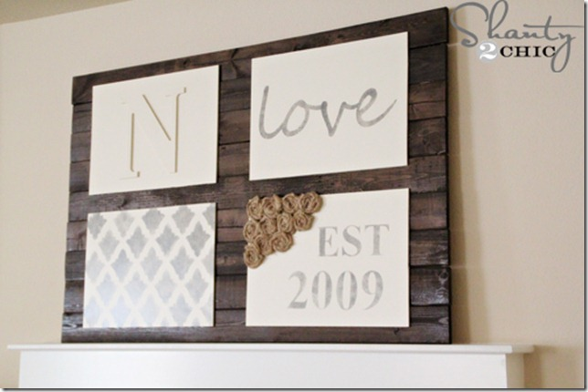 diy wall art pallet sign shanty 2 chic