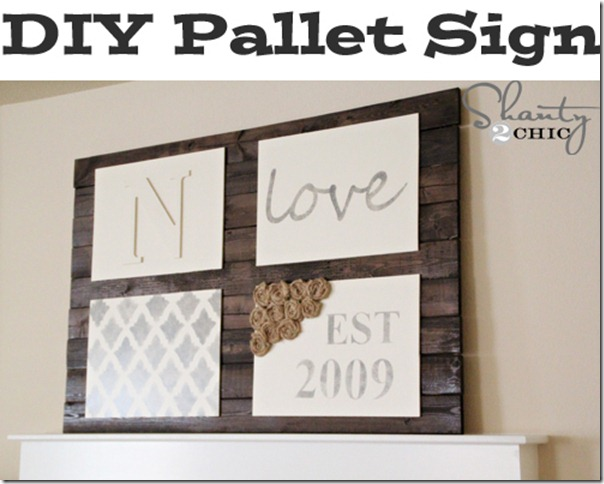 How to Build a Pallet Sign