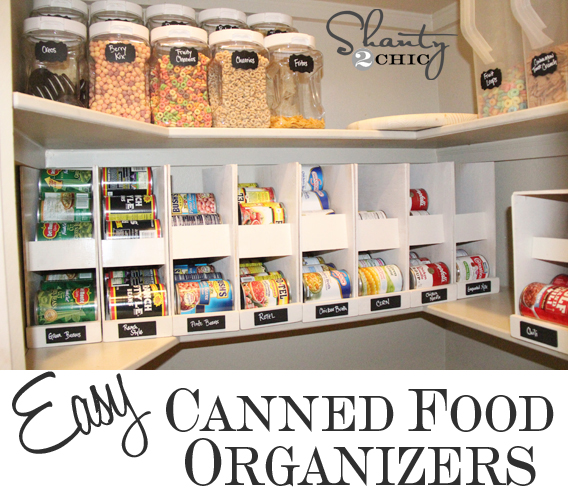 DIY Canned Food Storage | Creative Canned Food Storage Ideas