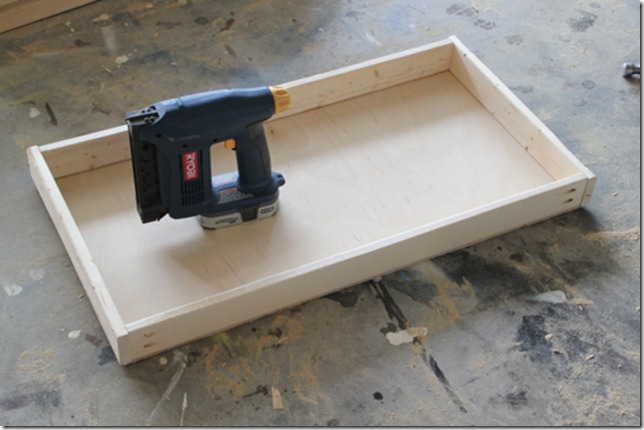 how to build a wood drawer