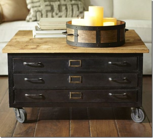 library-metal-wood-flat-file-coffee-table