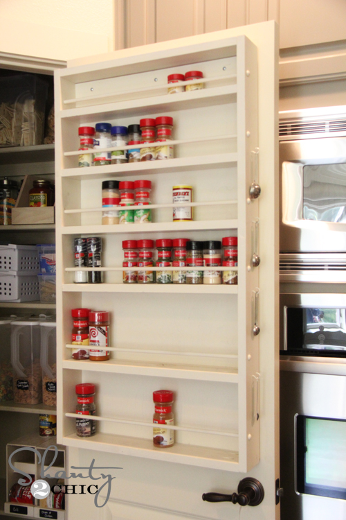 Spice Rack Free Plans Shanty 2 Chic