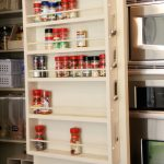 Pantry Ideas – DIY Door Spice Rack