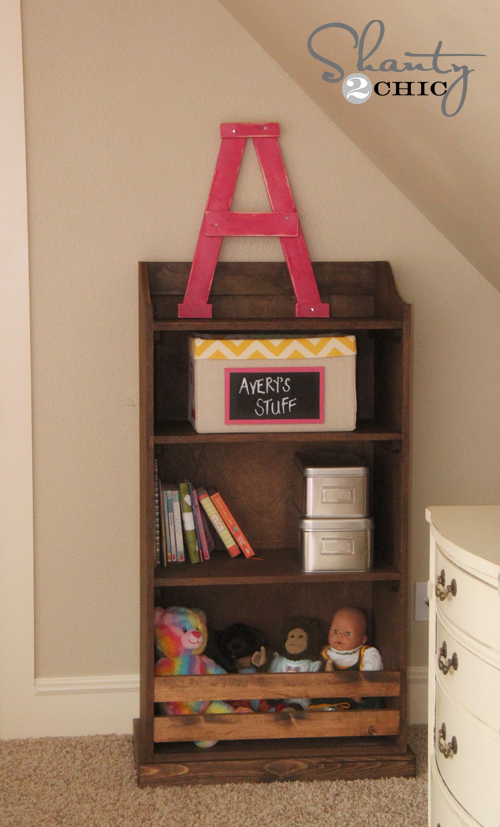 Diy Bookcase Pottery Barn Kids Inspired Shanty 2 Chic