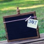 DIY Christmas Gift – $5 Chalkboard