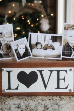 $3 Photo Display Gift & Free Printables!
