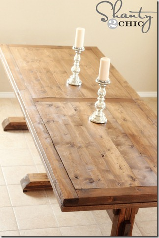 build a dining table