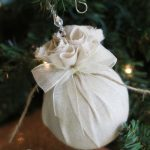 DIY Christmas Ornament ~ Easy Fabric Balls