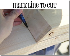 how to miter cut