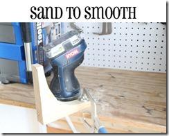 sanding arcs