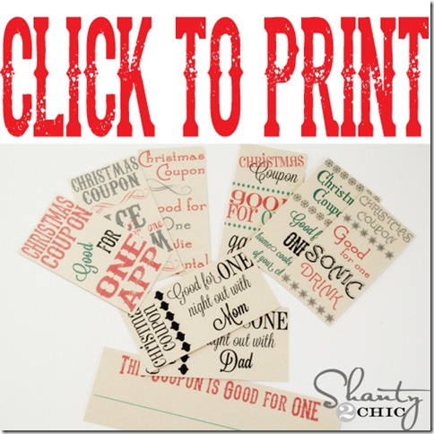 free printable stocking stuffer coupons shanty 2 chic