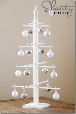 Ten Dollar Wooden Ornament Tree