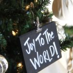DIY Ornaments – Chalkboard Ornaments & A Giveaway!