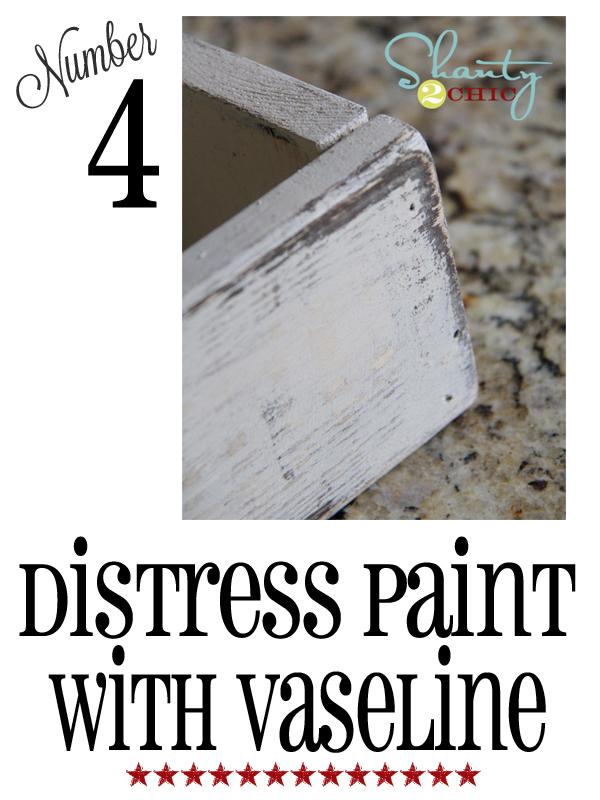distress paint