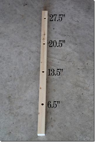 hole measurements