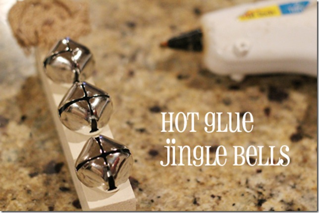 hot glue bells