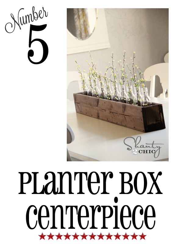 planter box centerpiece