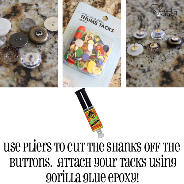 push pins diy