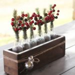 Christmas Centerpiece – Soda Bottle Crate