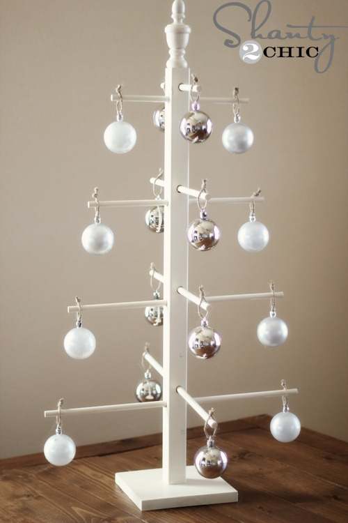 Christmas Ornament Display Part - 19: Wooden Ornament Tree