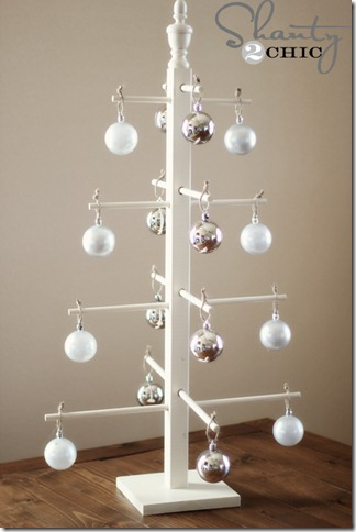 wooden ornament tree