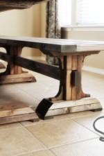 DIY Furniture ~ Triple Pedestal Bench