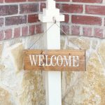 DIY Sign ~ Welcome