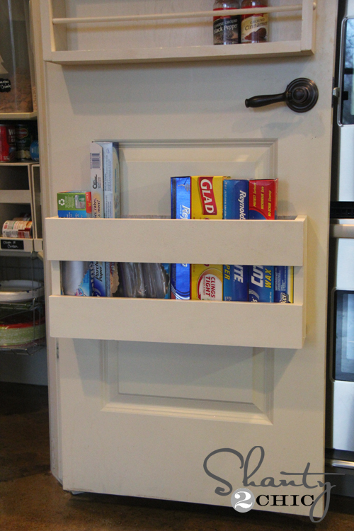 Kitchen organization diy foil more organizer shanty for Cost to build a pantry