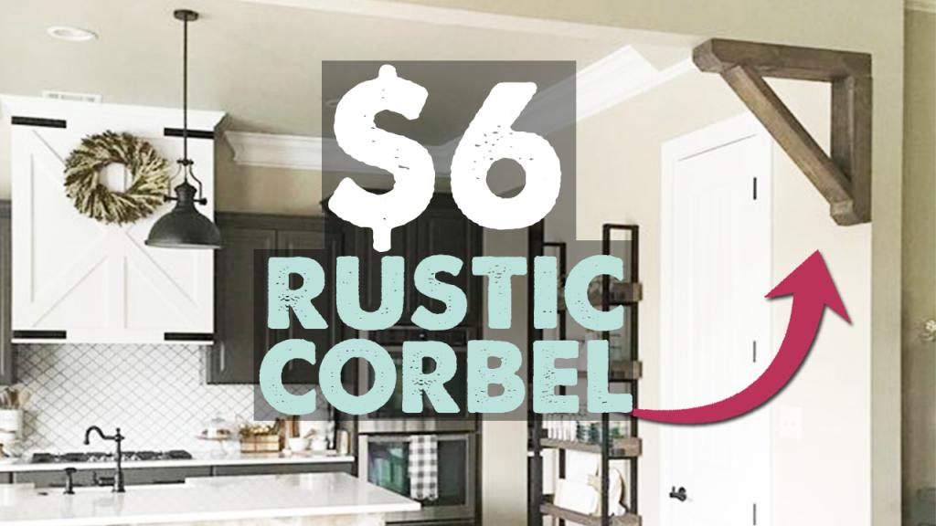 rustic corbelk