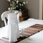 Wood Shim Table Runner DIY