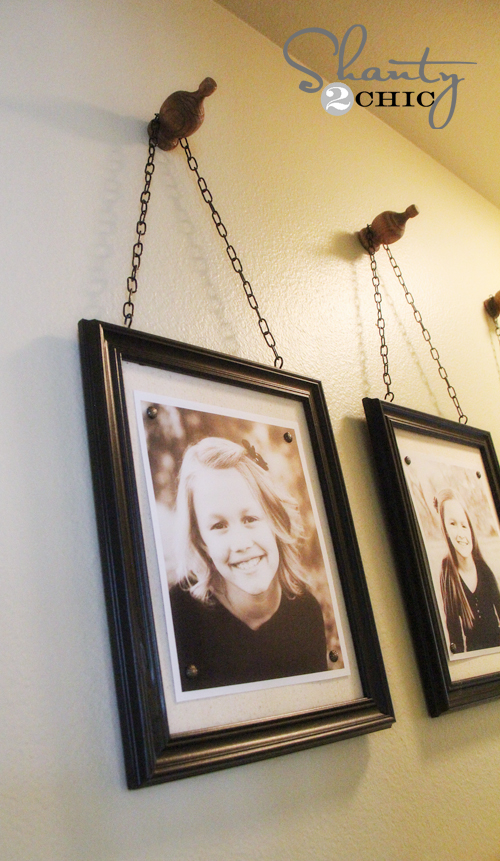 chain wall frames