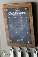 Conversion Chart DIY – Free Printable