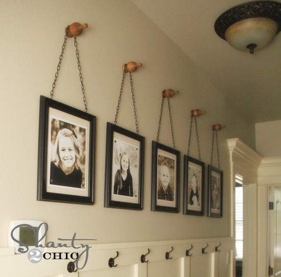 diy wall art gallery frames shanty 2 chic. Black Bedroom Furniture Sets. Home Design Ideas
