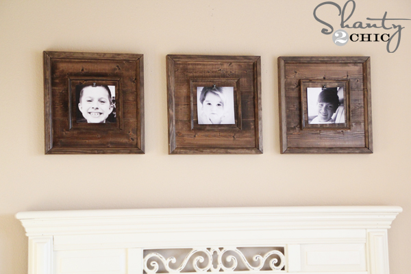 Diy Wall Art 15 Wooden Frames Shanty 2 Chic