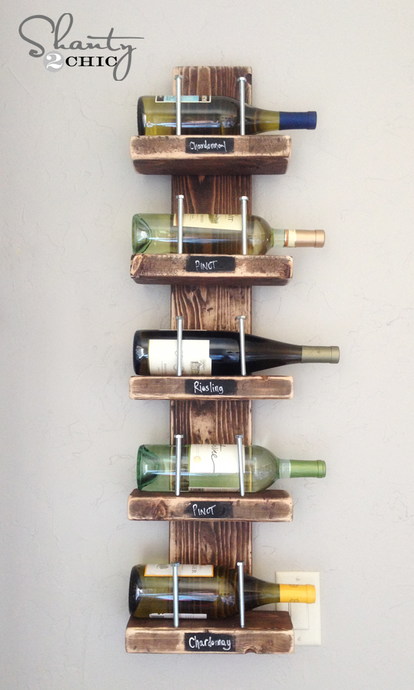 Shanty 2 Chic Wine Rack 4