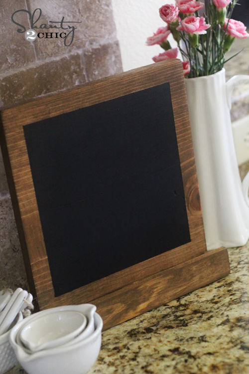 Wood iPad Display