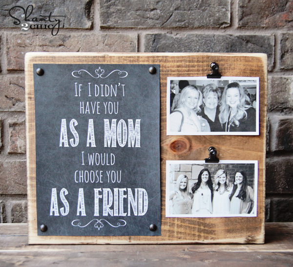 Mother 39 s day gift free printable shanty 2 chic Mothers day presents diy