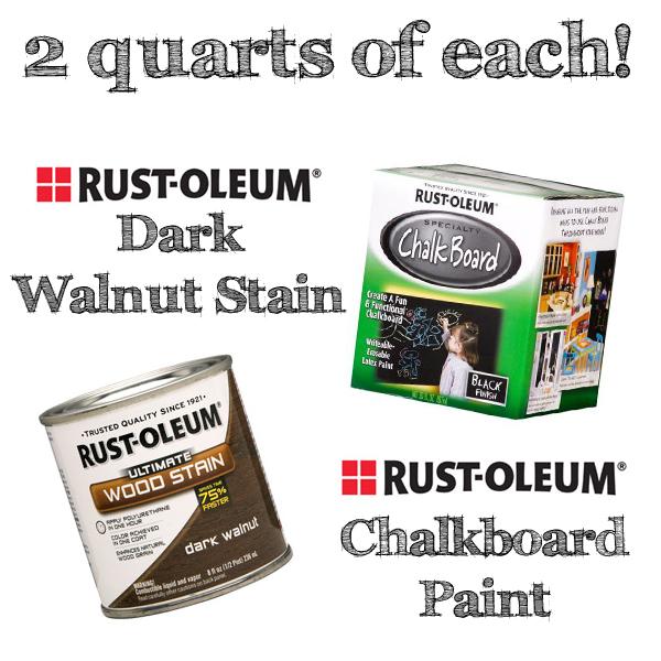 Rustoleum Giveaway