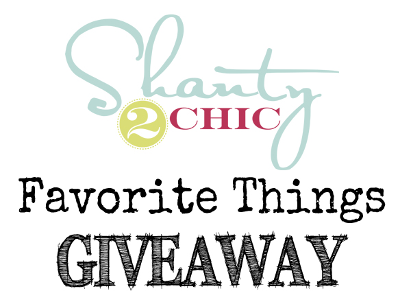 Shanty2Chic Giveaway