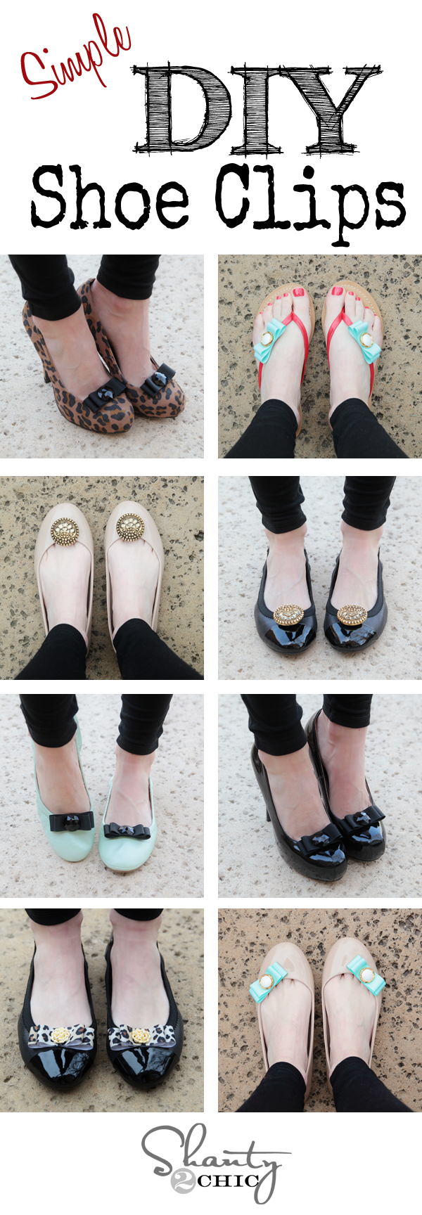 Shoe Clips Pinterest