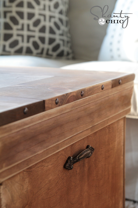 Trunk Coffee Table DIY