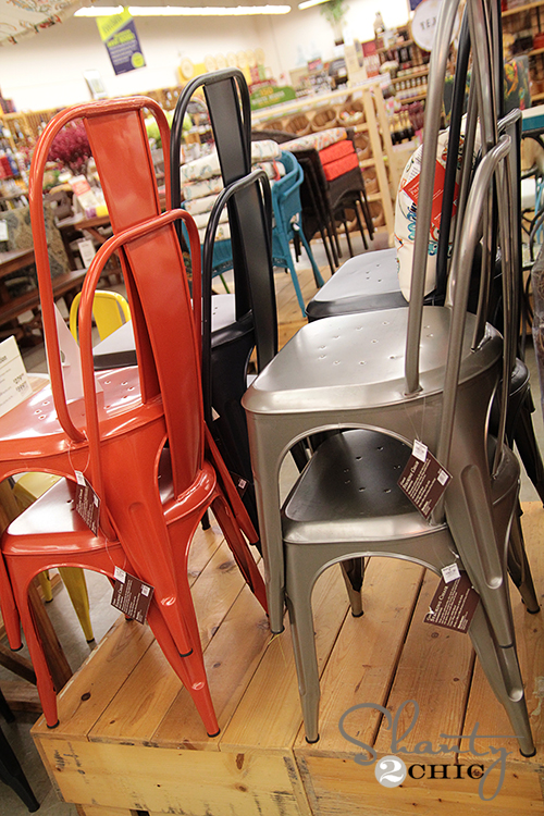 World Market Metal Chairs