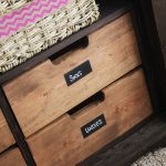 Chalkboard Labels on Furniture