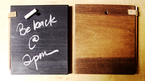 Chalkboard Tablets DIY