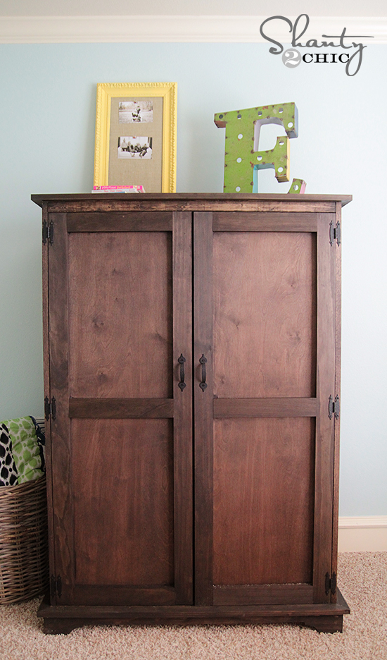 diy armoire woodworking plans
